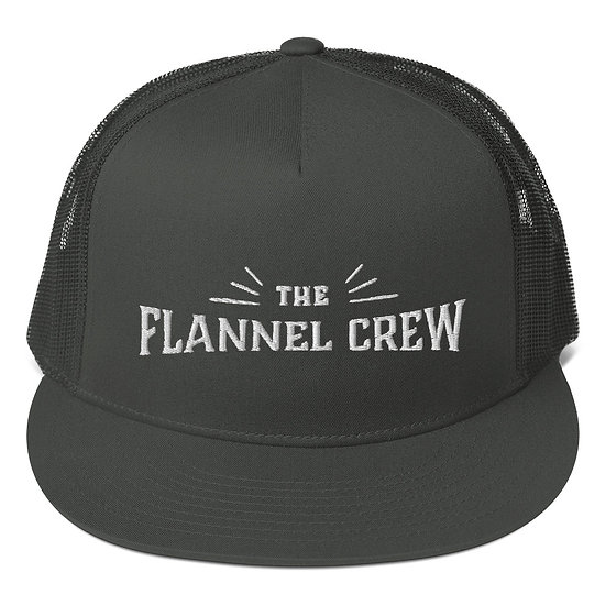 T.F.C Trucker Hat - Black