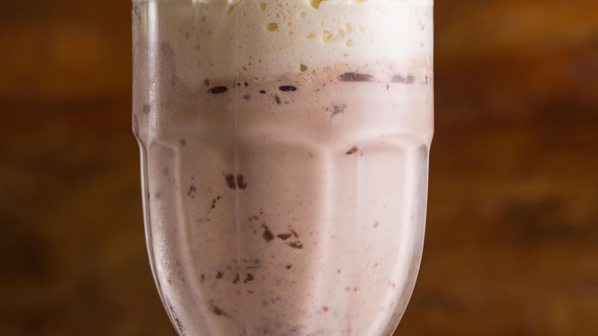 Milk Shake de Oreo com Nutella