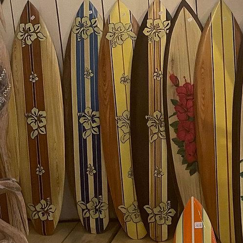 Planches de surf décoratives