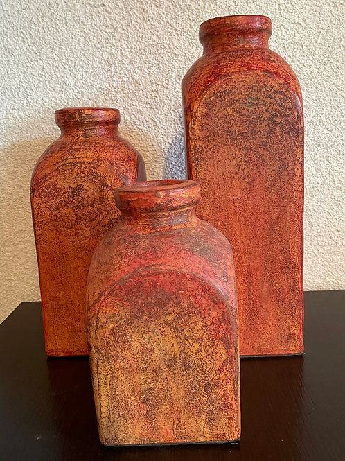 set de 3 vases