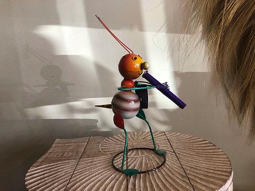 La fourmi et sa flûte