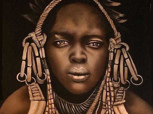Tableau Peinture Tribale