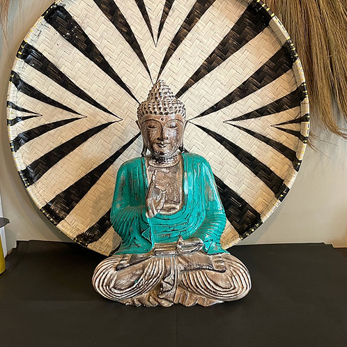 Bouddha Zen vert