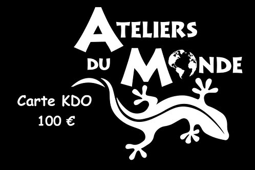 Carte KDO 100€