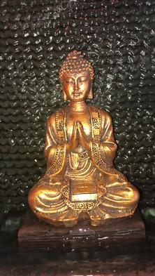Fontaine bouddha - Ateliers du Monde - Lacanau*