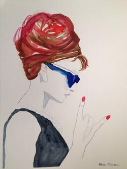 Audrey in Sunglasses