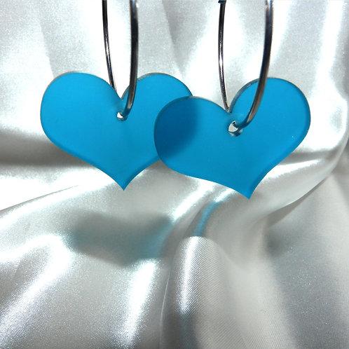 Blue Frost Hoops