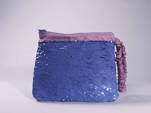 Violet Luxe Clutch #1