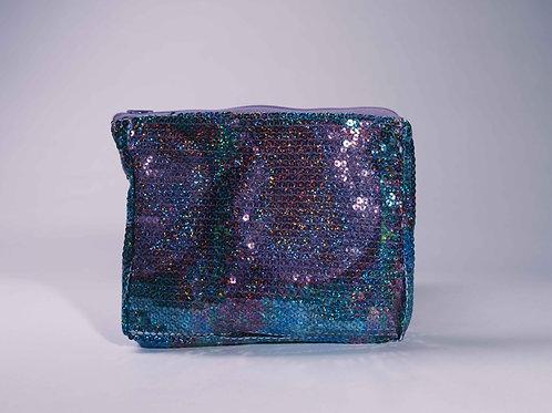 Purple Disco Luxe Cosmetic Bag