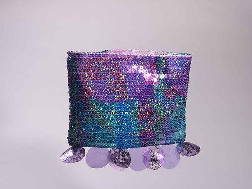 Purple Disco Mini Clutch