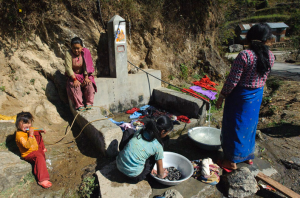 Clean water takes hard work in Nepal