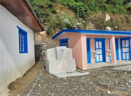 Toilets Completed for New Medical Clinic