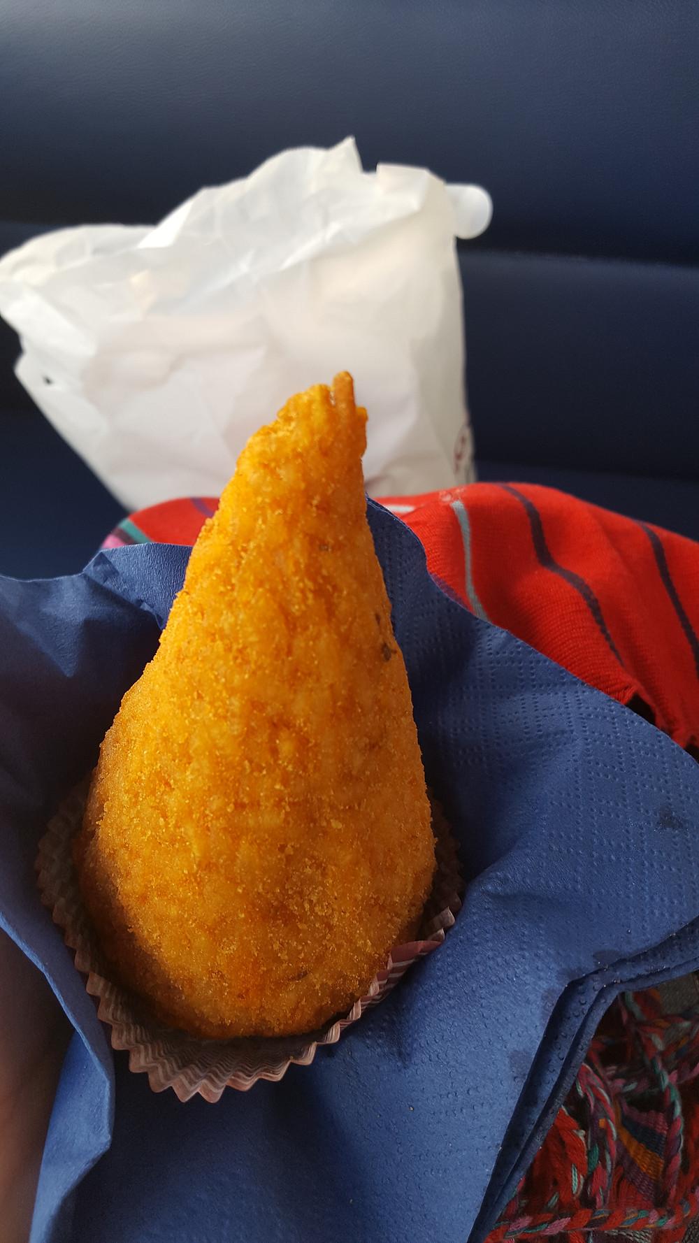 Sicily rice ball