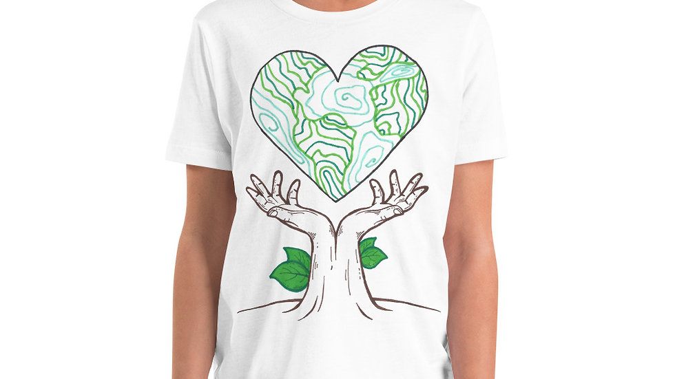 Earth Day 2020 by Chloe Pearlman Youth Tee