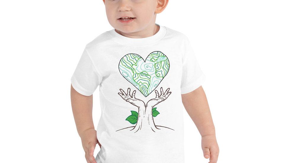 Earth Day 2020 by Chloe Pearlman Toddler Tee