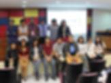 Miembros de la Filial Lima del SCAP