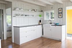 Oceanfront Bungalow Kitchen