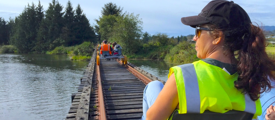The Oregon Coast Railriders Are Really Fun!