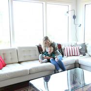 Modern Lodge - Oceanfront Manzanita Seating Area