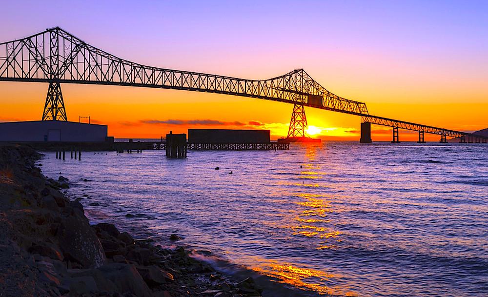 Sunset Astoria Oregon