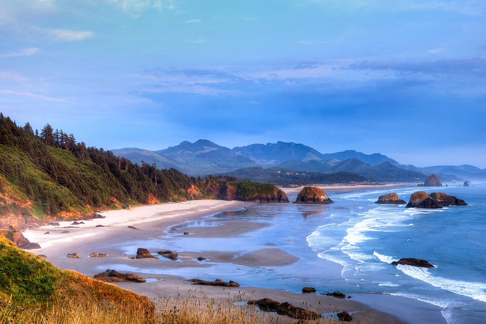 Cannon Beach weather brings sunny days