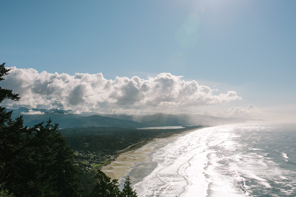 Manzanita Beach is a short drive from Cannon Beach