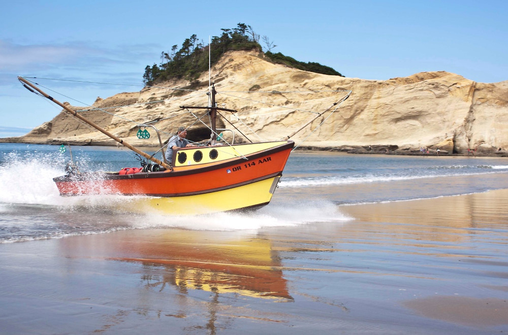 Pacific City Dory Launch