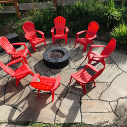 Enjoy the Private FIre PIt