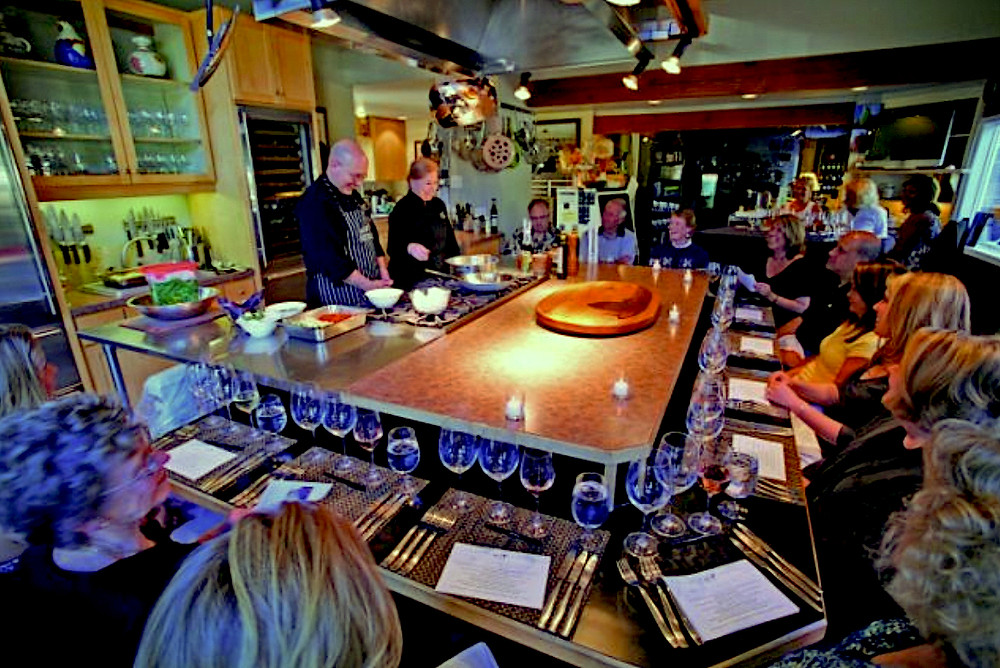 Cooking classes at Oregon Coast
