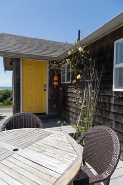 Oceanfront Bungalow Yellow Door
