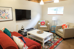 Oceanfront Modern Cabin Family Area