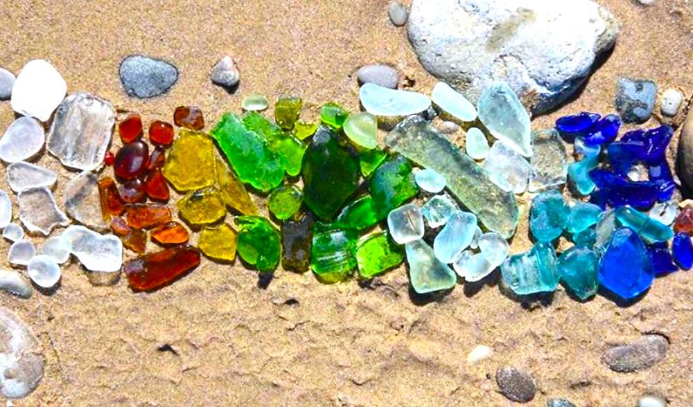 glass beach Oregon