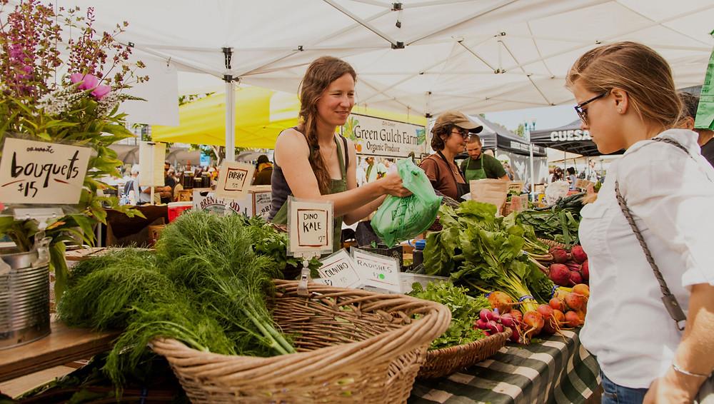 Seaside Oregon Farmer's Market