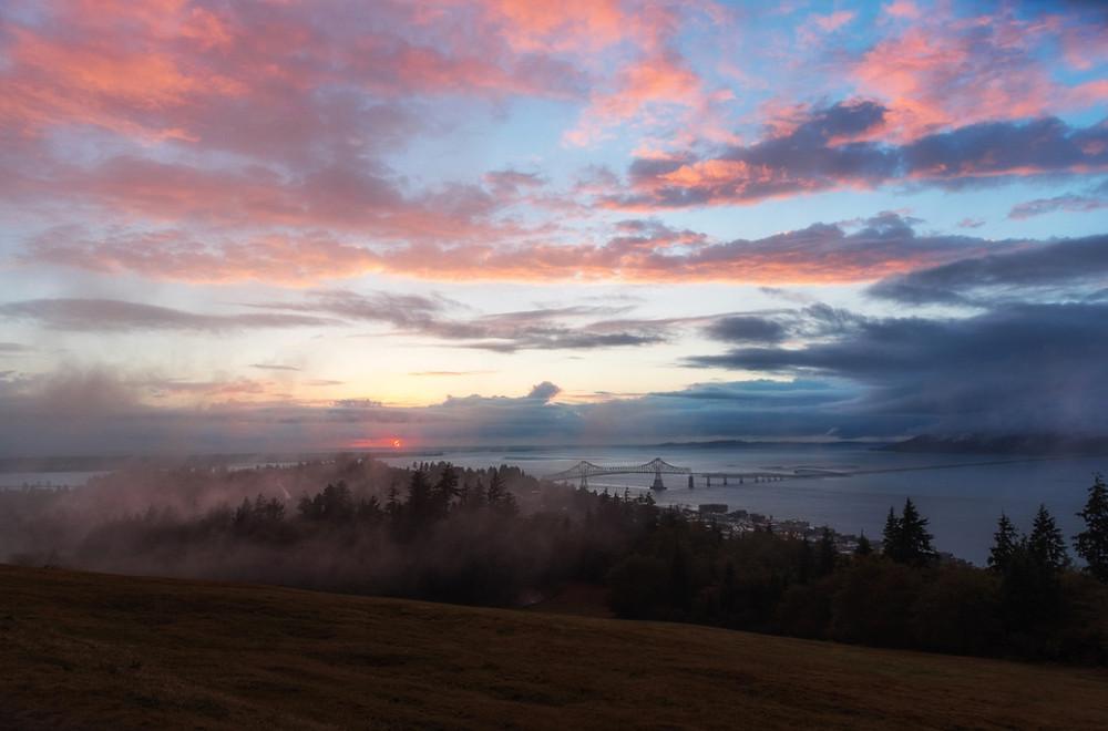 Sunset at Oregon Coast