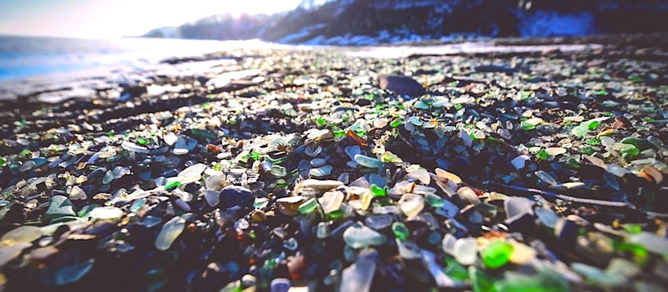 In Search of Oregon Coast Sea Glass