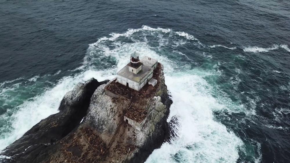 Terrible Tilly at Tillamook Rock Lighthouse