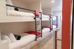 Cozy Bunkroom with Six Twin Beds