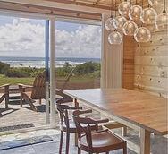 Manzanita Oceanfront Cottage Kitchen Area