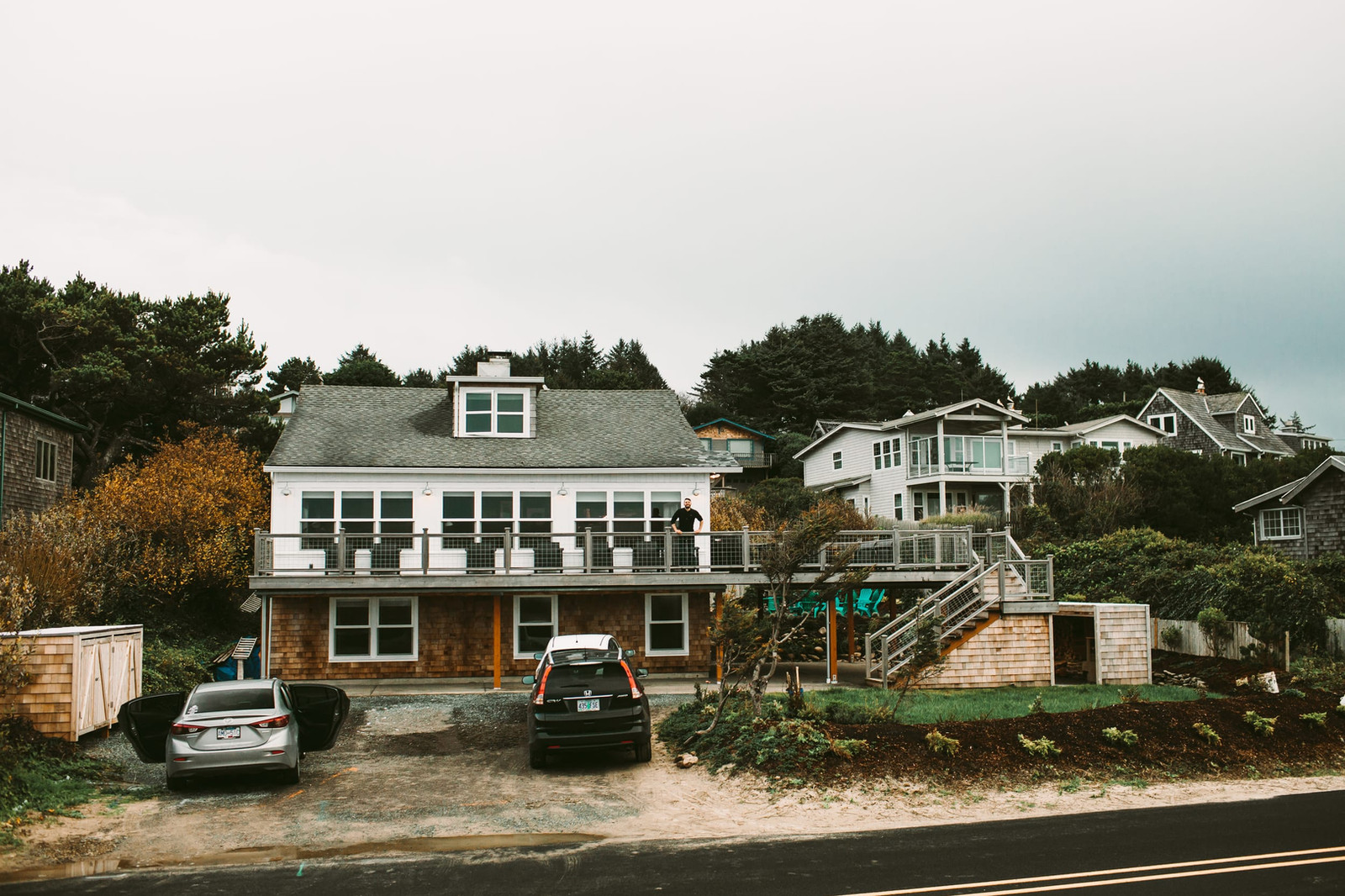 Oceanfront Historic Reed House Manzanita Oregon