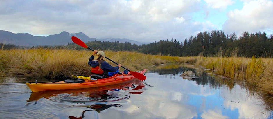 The Best Kayaking Oregon Coast Style!