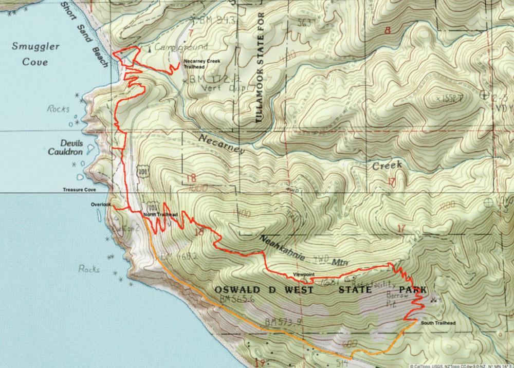 Neahkahnie Loop Hike