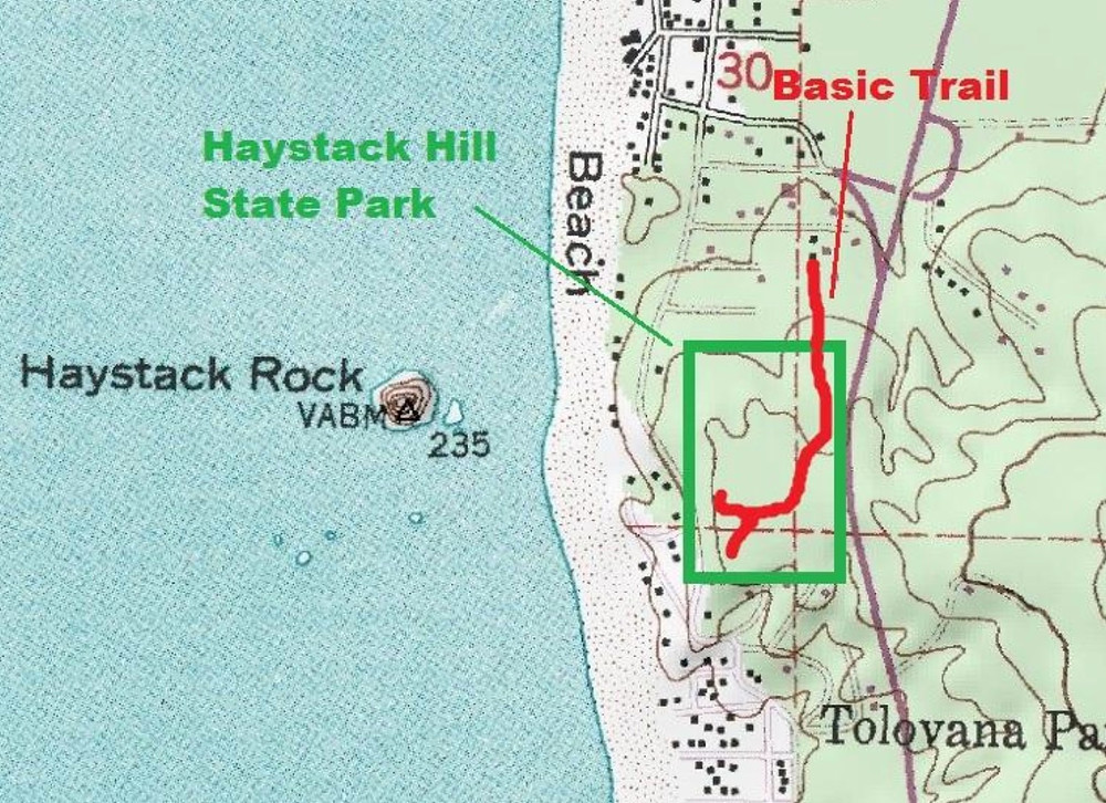 Haystack Hill State Park Map