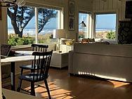 Oceanfront Bungalow Living Area