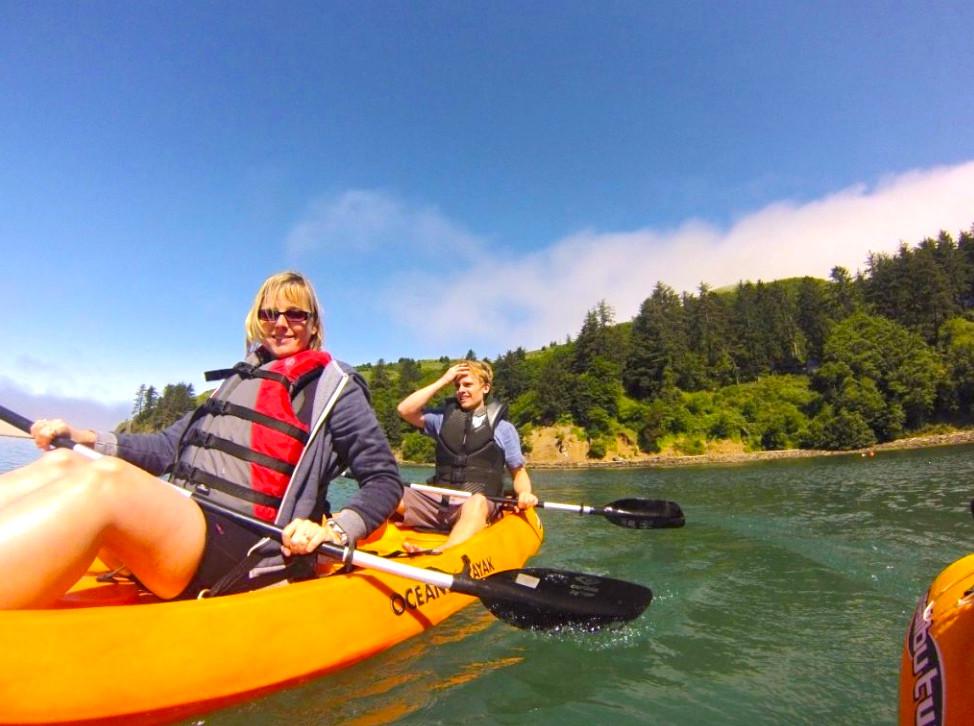 Nehalem River kayak experience