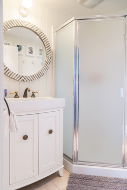 Oceanfront Bungalow Bathroom