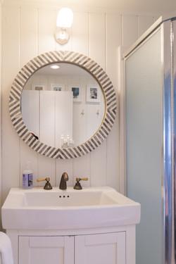 Oceanfront Bungalow Bathroom mirror