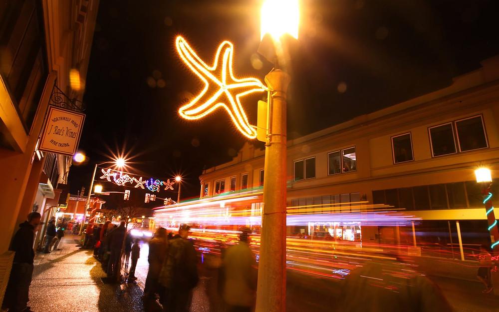 Christmas lightening