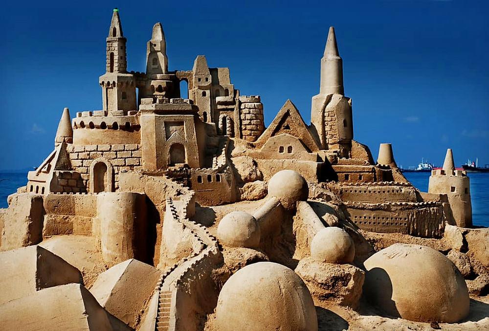 Fantastic Cannon Beach Sandcastle contest