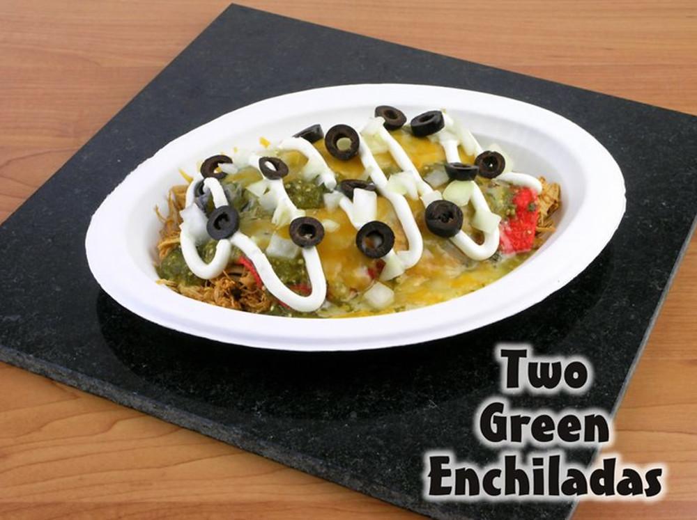 Left Coast Siesta Enchiladas