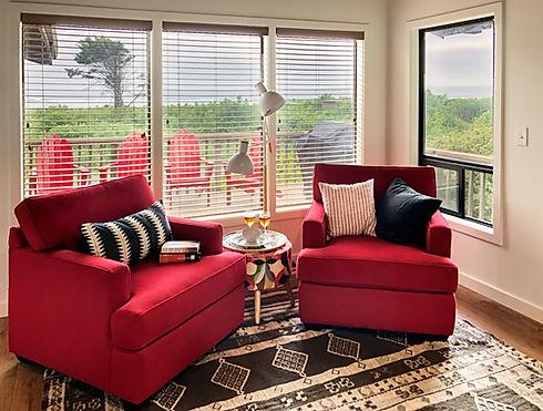 Manzanita Vacation Rentals - Seating Area